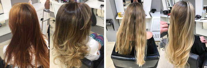 Balayage Ombre by Studio 34 Delray