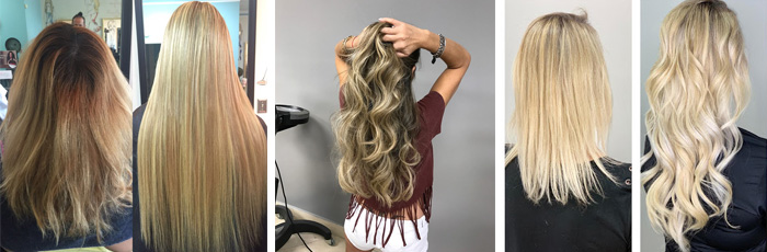Hair Extensions by Studio 34 Delray