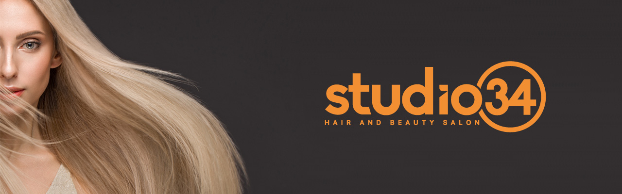 Studio 34 Hair Salon Banner 1